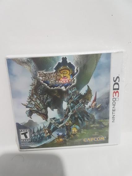 Jogo Nintendo 3ds Monster Hunter 3 Ultimate