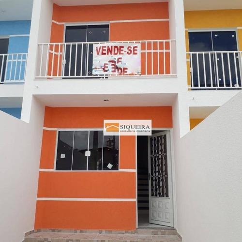 Casa Com 2 Dormitórios À Venda, 63 M² Por R$ 180.000,00 - Jardim Nova Esperança - Sorocaba/sp - Ca1565