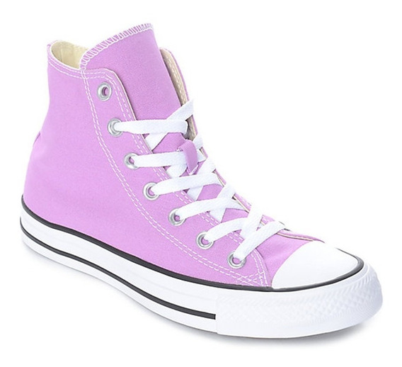 Zapatillas Converse All Star Hi Kids Lila- Sagat Deportes