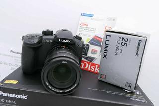 Cámara Panasonic Lumix Gh5 Vario-elmarit Leica Lente 12-60 F