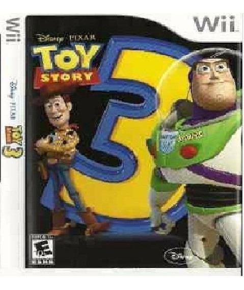 Toy Story 3 Wii Usado Original Midia Fisica - Zeh3