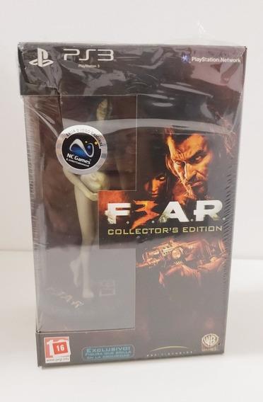 Jogo Fear 3 Ps3 Collectors Edition , Edição E Colecionador