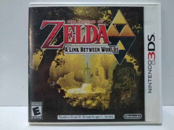 The Legend Of Zelda: A Link Between Worlds- 3ds Mídia Física