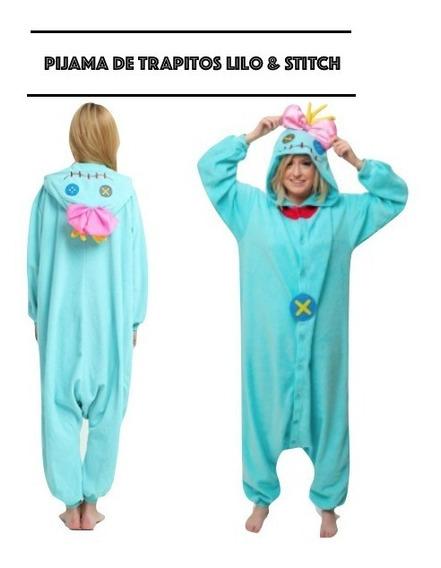 Trapitos Muñeca De Lilo & Stitch Pijama Kugurumi Xtr P