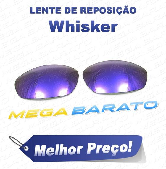 Lente Óculos Whisker Roxo Plasma Purple Polarizada