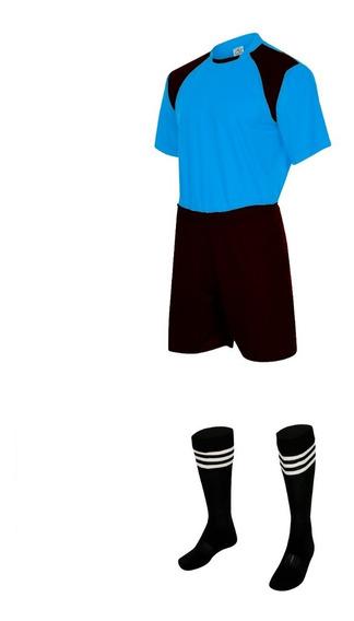 Uniforme De Futebol Infantil Completo - Kit 11 Pcs
