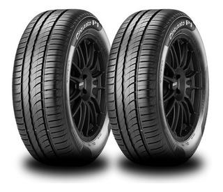 Kit X2 Neumáticos Pirelli 195/60 R15 88h Cinturato P1 + Envio Gratis