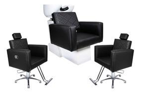 Cadeira Fixa+ Cadeira Reclinável+ Lav Cuba Louça Evidence