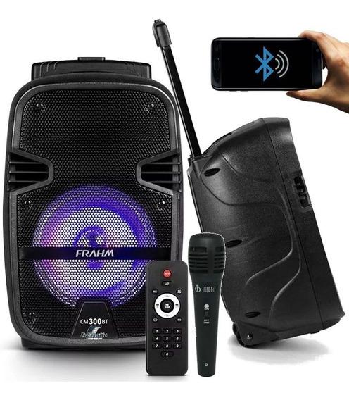 Caixa Som Bateria Portátil Cm 300 Controle Remoto Bluetooth