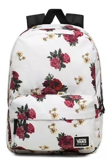 Mochila Vans Realm Floral Escolar Backpack Vans