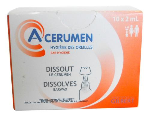 A-cerumen 10 X 2ml