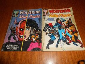 Hq Wolverine E Kitty Pride, Serie Em 2 Edições.