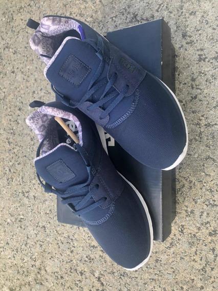 Tênis Dc Shoes Heathrow Azul