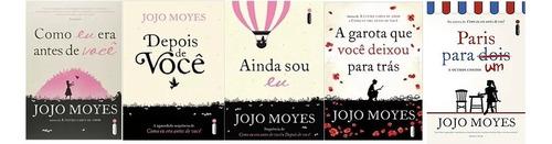 Kit Jojo Moyes - Como Eu Era Antes De Você + 4 Livros