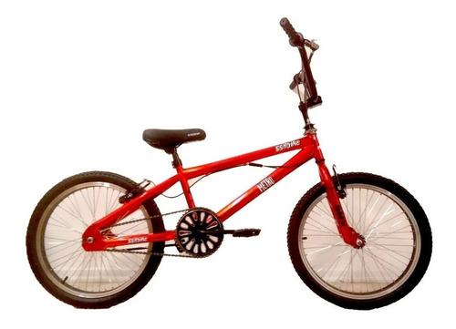 Imagen 1 de 5 de Bicicleta Bmx Freestyle R 20 Sbk Profesional Rotor V-brake
