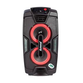 Caixa Amplificada Amvox Turbo Usb Sd Bluetooth Aca200