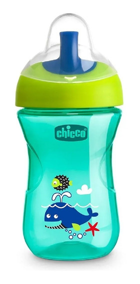 Copo Advanced Cup (12m+) 266 Ml Verde Baleia - Chicco