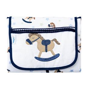 Trocador De Fraldas Portátil - Baby Joy Trends - Cavalinho -