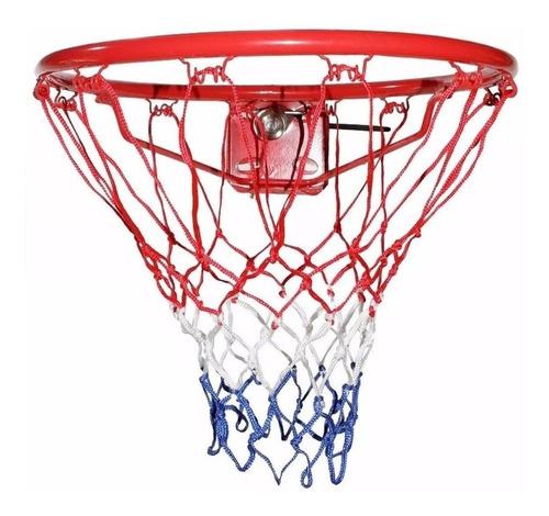 Imagen 1 de 6 de Red P/ Aro De Basketball Nylon Super Resistente Nº1 - El Rey