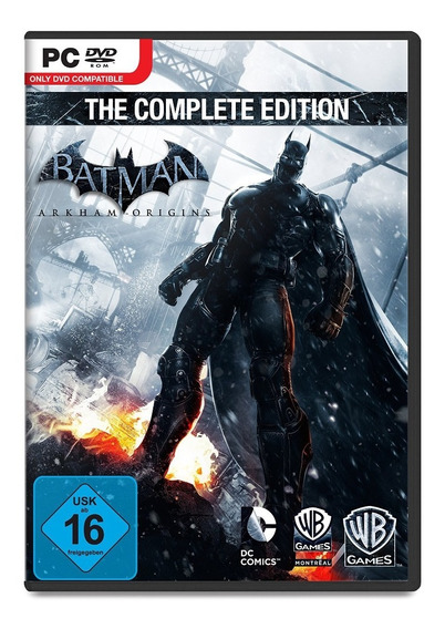 Batman Arkham Origins Complete - Pc Mídia Digital