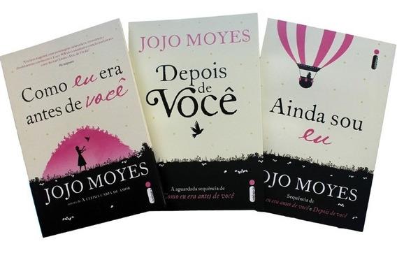 Kit Jojo Moyes: Ainda Sou Eu + Depois De Você + Como Eu Era