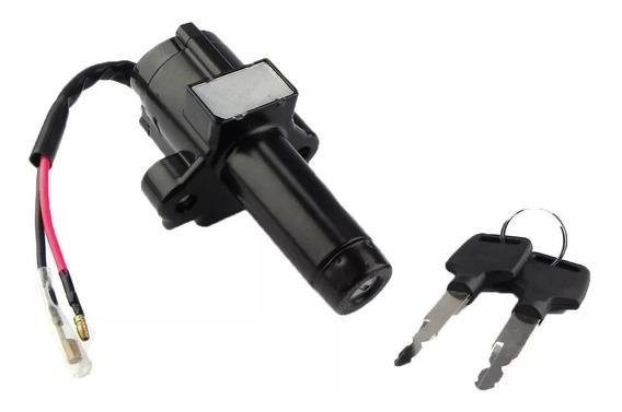 Chave Ignição Contato Miolo C/ Trava Cbx 200 Strada Aero 150