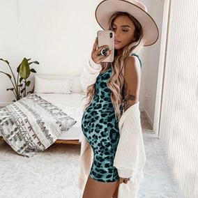f30429d1c Vestido De Jean Para Embarazadas - Ropa y Accesorios en Mercado ...