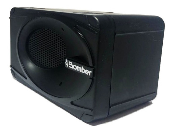 Caixa Som Bomber Preto Portátil 5 W Rms Bluetooth