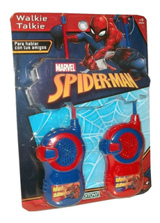Walkie Talkie Spiderman Licencia Original Ditoys Planeta