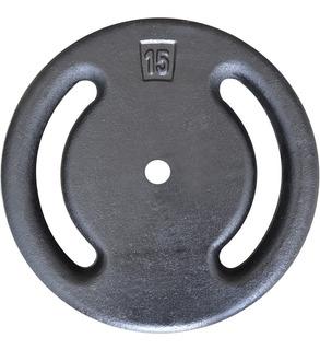 Anilha De 15kg Vazada Alta Qualidade - Halter / Barras