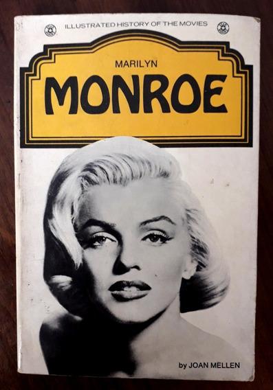 Livro Ilustrado De Marilyn Monroe - Usa - 1973 -ótimo Estado
