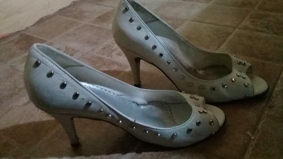 Zapatos Mujer Blancos Tacones