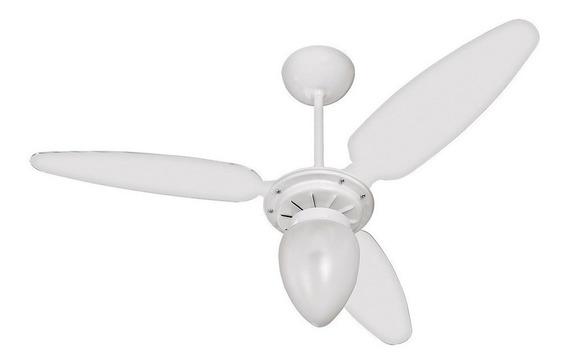 Ventilador de teto Ventisol Wind branco, 96cm de diâmetro 127V