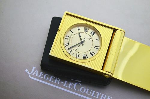 Jaeger Lecoultre Travel Clock - Cal. 911 - Lindo Modelo