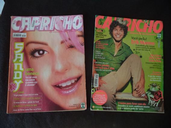 Revista Capricho Ano 2003 - Lote Com 2 Unidades