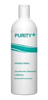 Gel Antibacterial Purity+ 500ml - mL a $26