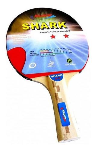 Raquete Para Tênis De Mesa - Borracha Lisa - Klopf