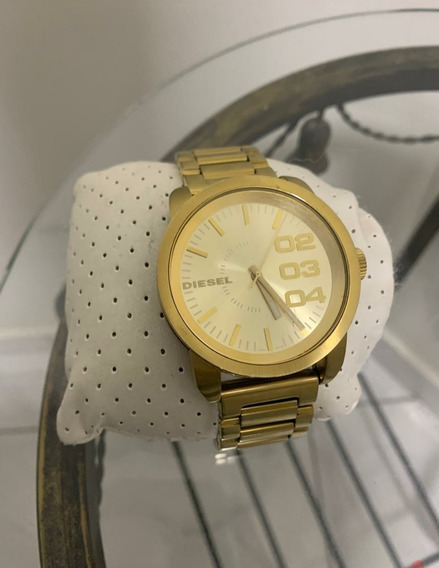 Relógio Diesel Original Dourado, Masculino