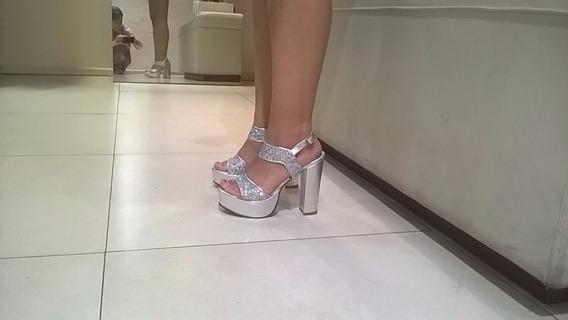 Zapatos Plateados Fiesta 15