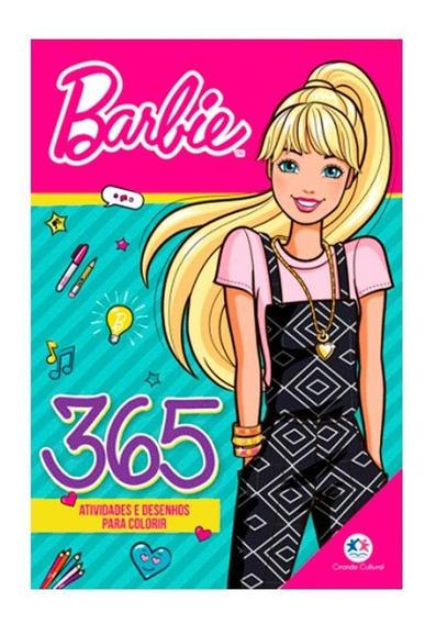 Barbie Atividades E Desenhos Para Colorir - Ciranda Cultural