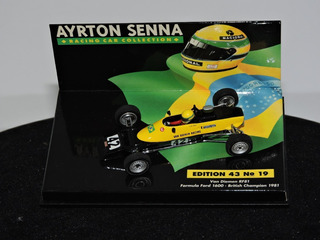 Rara Minichamps 1:43 Van Diemen Senna 1981 Form Ford 1600