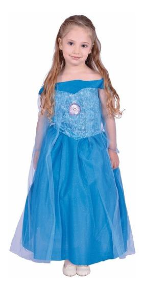 Disfraz Frozen Elsa Licencia Original New Toys