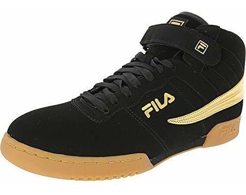 Imagen 1 de 3 de Fila Zapatos De F13 Hightop Zapatillas Negro Para Hombre