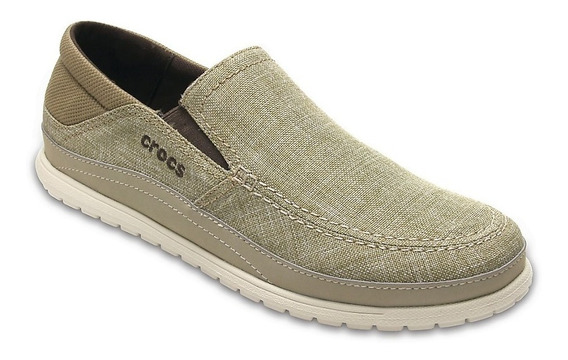 Nauticos Crocs Hombre Santa Cruz Playa Slip On - Importados-