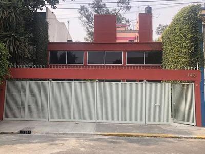 Casa En Renta, Prado Churubusco, Coyoacan