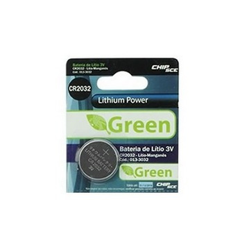 Bateria Lithium Power 3v Green Cr2032