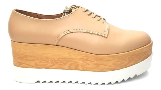 Zapato Doble Plataforma Dama Casual Envío Gratis 65061