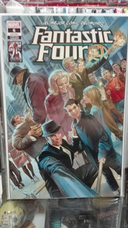 Marvel Cómics The Fantastic Four #6 Variante Alex Ross