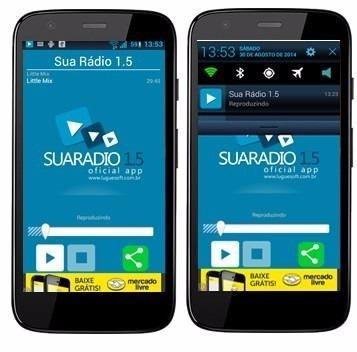 Aplicativo Android Para Web Radio E Radio Fm