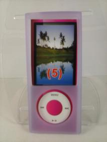 Capa Silicone Lilas Nano 5 5º Geração Apple iPod